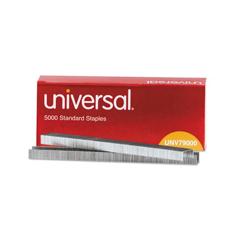 universal® Standard Chisel Point 210 Strip Count Staples {5,000/Box}