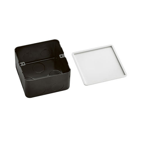 Arteor 3 Module Metal Flush Mounting Box for Concrete Floor