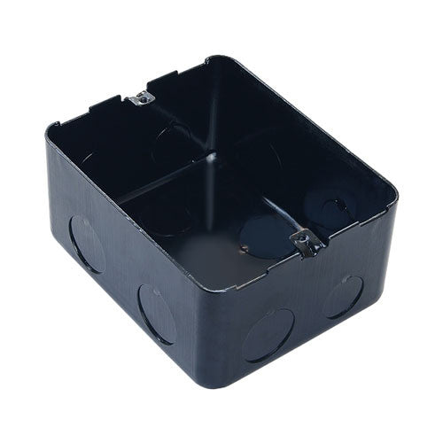 4 Module Metal Flush Mounting Box For Concrete Floor 54001