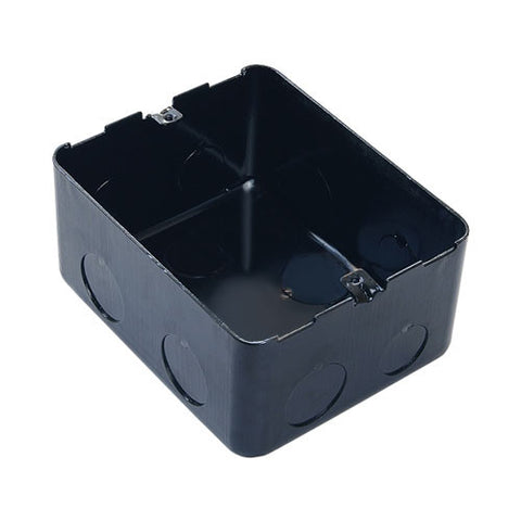 Arteor 4 Module Metal Flush Mounting Box for Concrete Floor