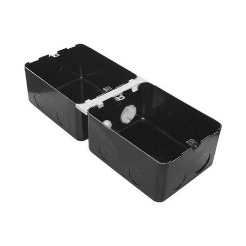 Arteor 6 Module Metal Flush Mounting Box for Concrete Floor