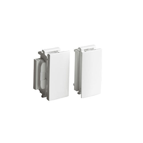 2 Soluclip Accessories For Installation With Snap-On Trunking