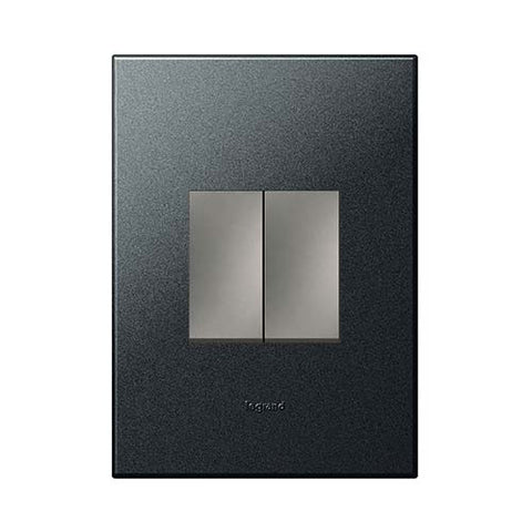 Arteor 1 Lever Dim Press + 1 Lever 1 Way - Graphite