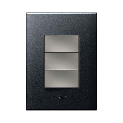 Arteor 3 Lever Switch - Graphite