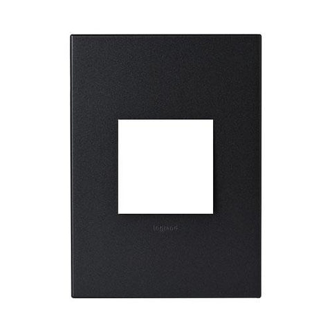 Arteor Cover Plate 2 Modules - Graphite