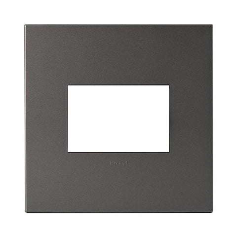 Arteor Cover Plate 3 Modules 4 x 4 - Magnesium