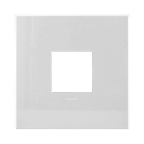 Arteor Cover Plate 2 Modules 4 x 4 - White