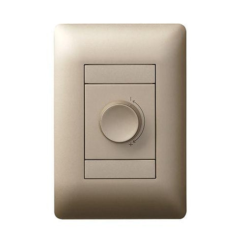 1 Lever Dimmer Switch - Champagne