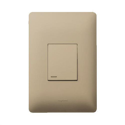Ysalis 1 Lever Switch 2 Way - Champagne