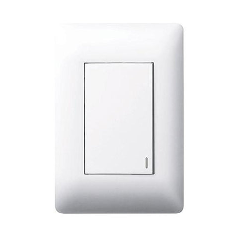 1 Lever Switch Large Module - White