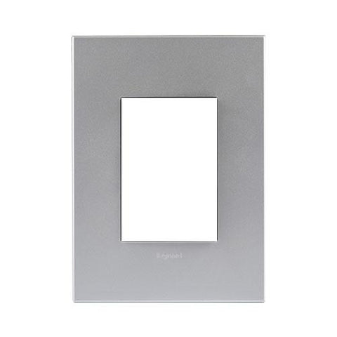 Arteor Cover Plate 3 Modules - Soft Aluminium