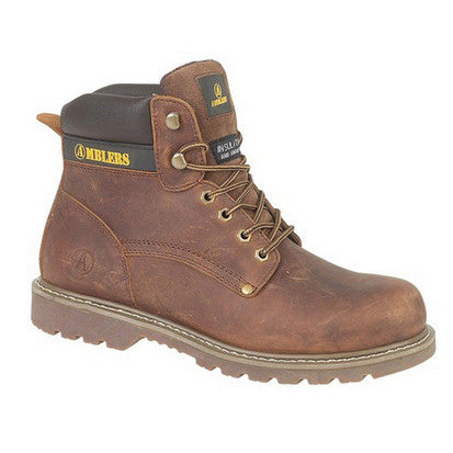 Ambler Dorking Brown Non-Safety Boot