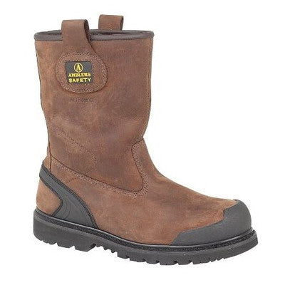 Ambler Brown Safety Boot FS223C
