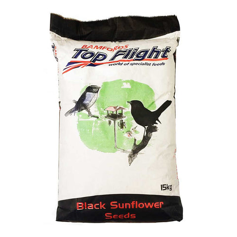 Bamfords Top Flight Black Sunflower Seeds 15kg