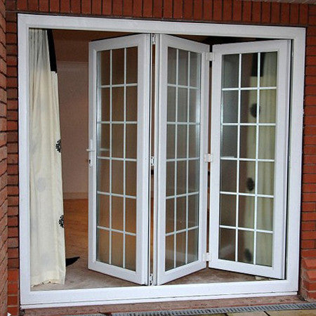 UPVC Bi-Folding Doors White