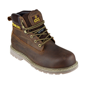 Ambler Safety Boot Brown FS164