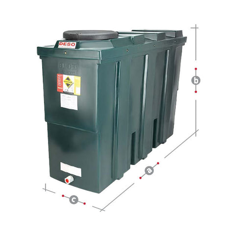 Bunded Oil Tank 1000 Litre SL1000BT