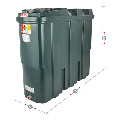 Bunded Oil Tank 1250 Litre SL1250BT