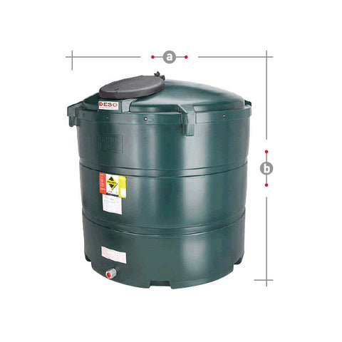 Bunded Oil Tank 1340 Litre V1340BT