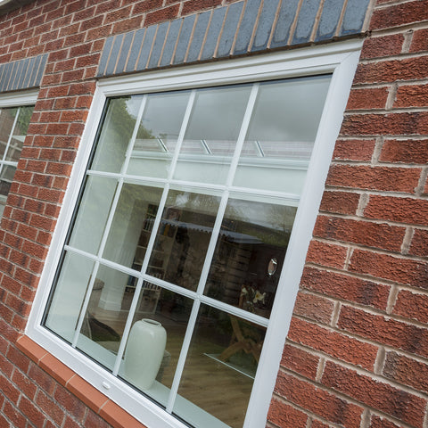 uPVC Casement Window White