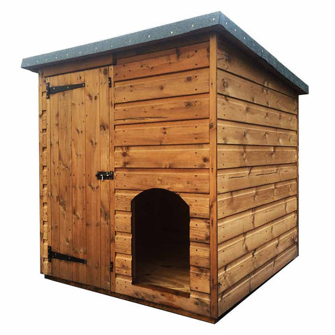 Morgans Dog Kennel with Access Door