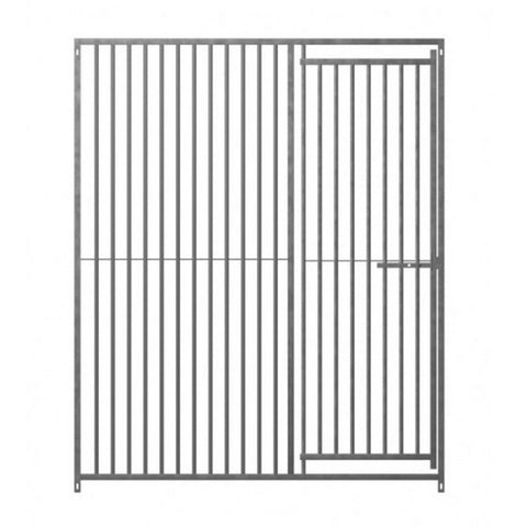 Dog Pen Galv Front Panel with Door 1.5mtr x 1.84mtr