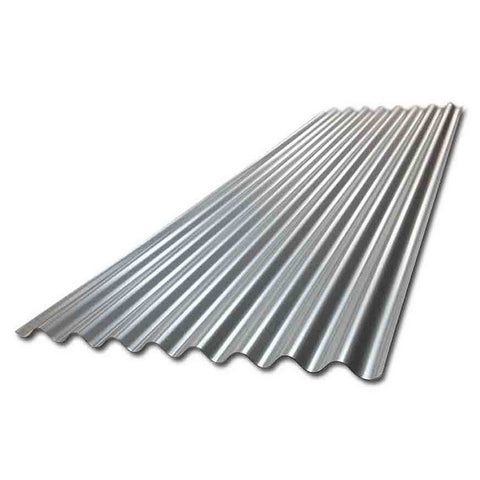 7ft Galvanised Corrugated Sheet 660mm Wide