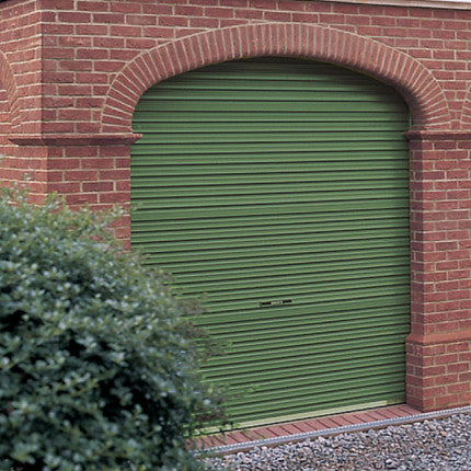 Garage Door Roller Green