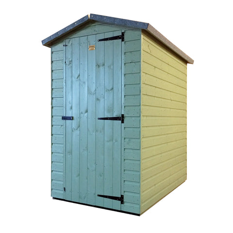 Morgans Garden Shed Green Small Bespoke