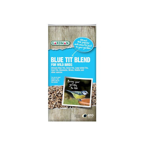 Gardman Blue Tit Blend For Wild Birds 2Kg