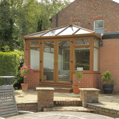 Edwardian Conservatory Global Golden Oak