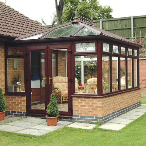 Edwardian Conservatory Global Mahogany