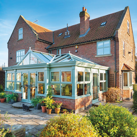 Global Summer Chartwell Green Conservatory