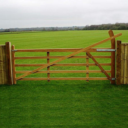 Hardwood Estate Gate Sapele
