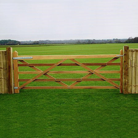 Hardwood Field Gate