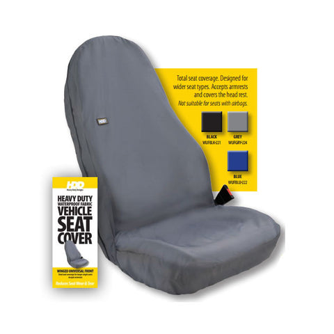 HDD Winged Universal Van Front Single Seat Cover