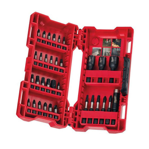 Milwaukee Shockwave 33 Piece Drill Driver Bit Set 4932 4308 13