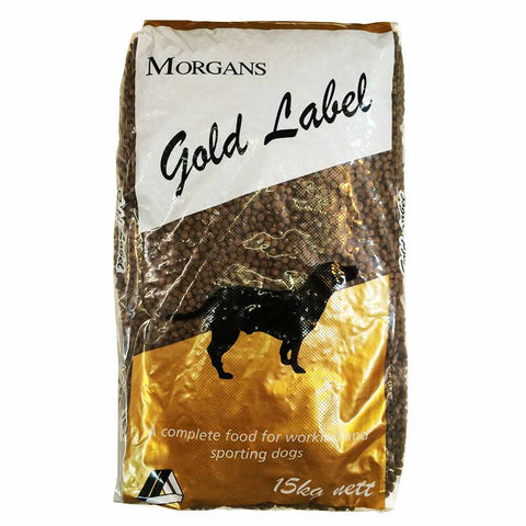 Morgans Gold Label Working Dog Food 15kg