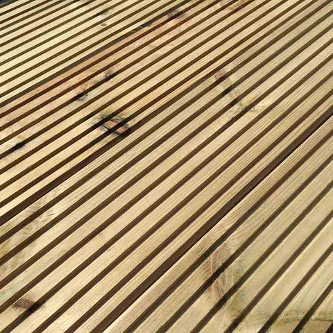 Timber Decking 150mm x 32mm x 4.8mtr