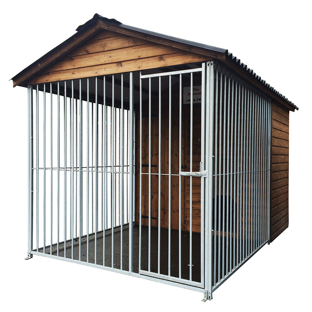 morgans sweeney dog kennel and run