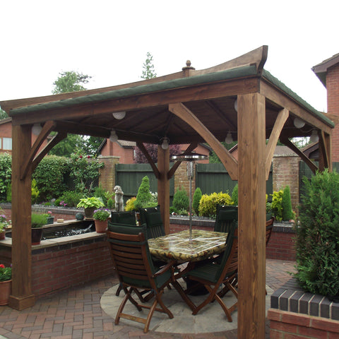 Morgans Joinery Wooden Gazebo Bespoke