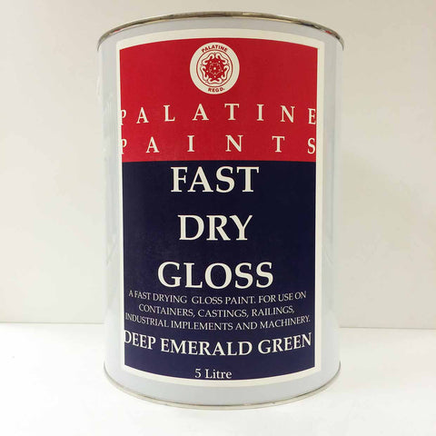 Palatine Paint Fast Dry Gloss Deep Emerald Green 5 Litre