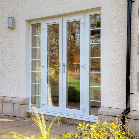 UPVC Patio Door White