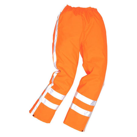 Portwest RWS Hi Viz Waterproof Trousers Orange R480
