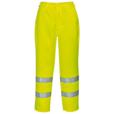 Portwest RWS Hi Viz Waterproof Trousers Yellow S480