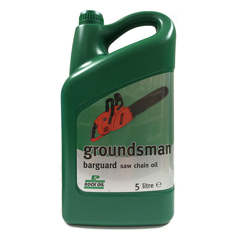 Rock Groundsman Barguard Saw Chain Oil 5 Litre