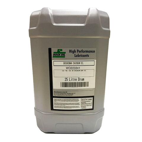 Rock Groundsman Chainsaw Oil 25 Litre