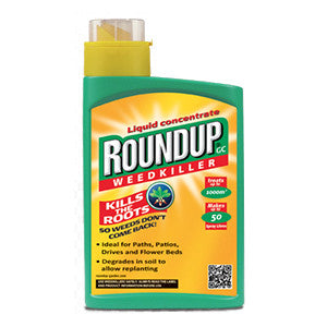 Roundup GC Liquid Concentrate Weedkiller 1000ml