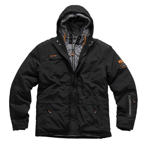 Scruffs Expedition Double Zip Jacket Black