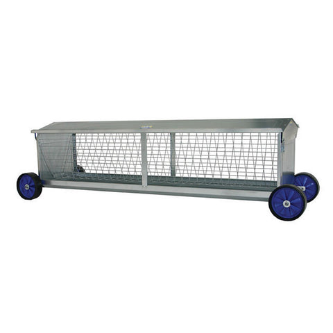 Sheep Hayrack on Wheels